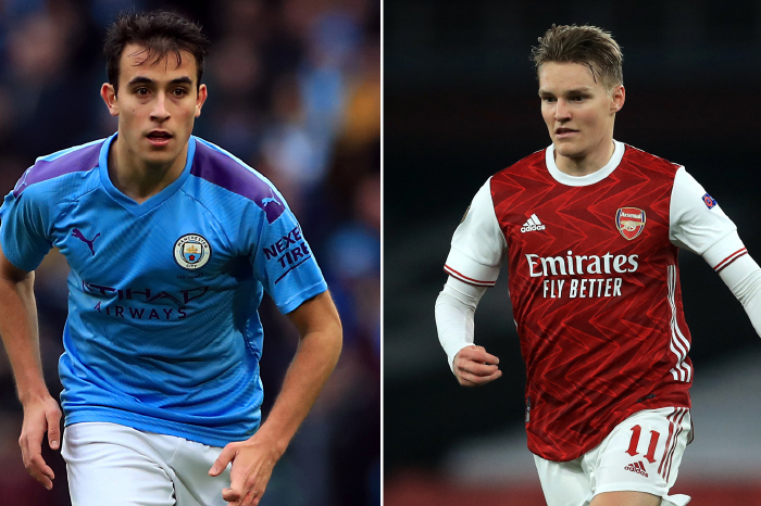 Eric Garcia and Martin Odegaard could be on the move