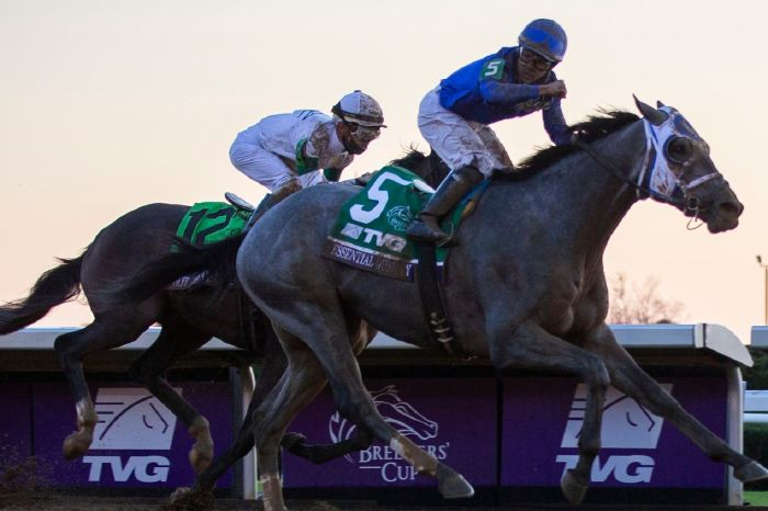 Essential Quality is unbeaten in three, with the next test coming at the Grade III Southwest at Oaklawn Park