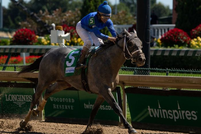 Essential Quality booked his place at the Kentucky Derby on Saturday