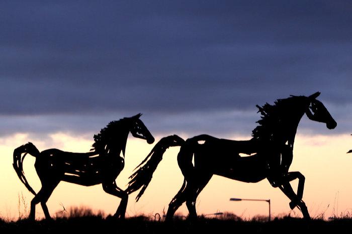 Fairyhouse sculptures