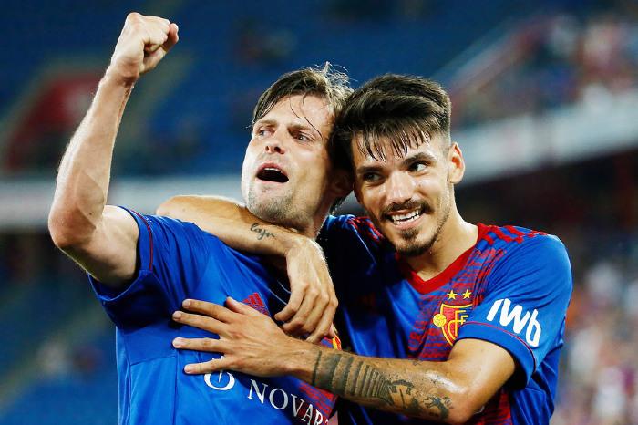 FC Basel celebrate