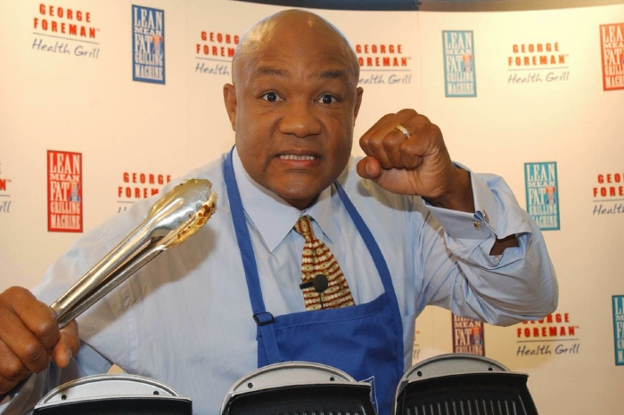 George Foreman can only see one winner between Anthony Joshua and Tyson Fury