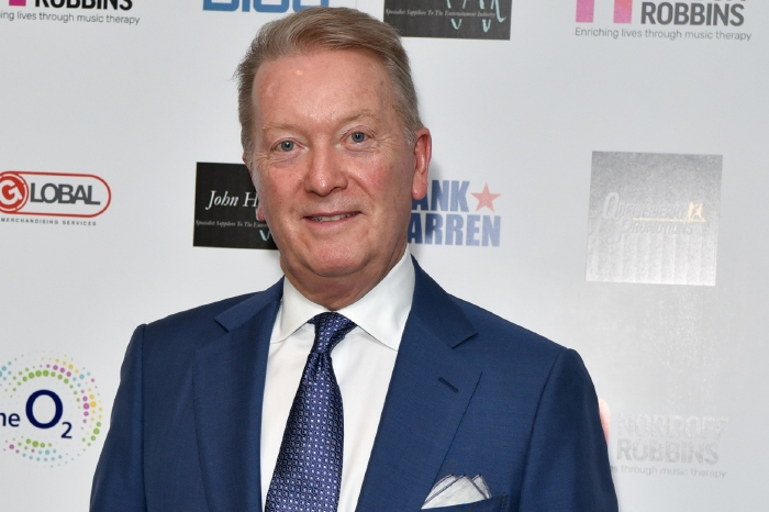 Frank Warren has criticised Eddie Hearn for his comments
