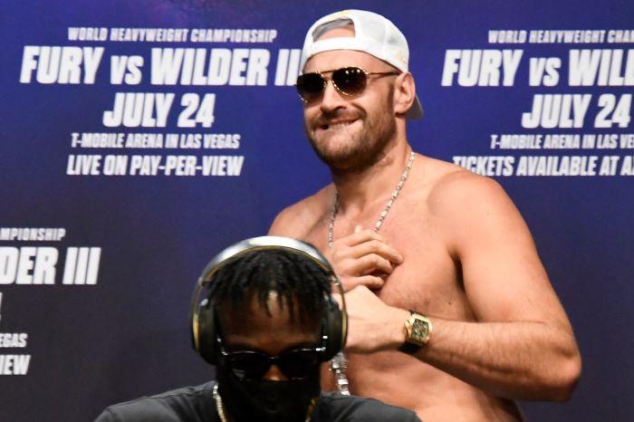 Tyson Fury will face Deontay Wilder on July 24