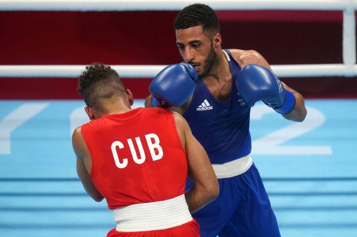 Galal Yafai takes on Carlo Paalam in the flyweight final