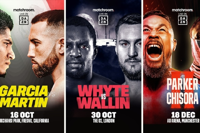 DAZN announce triple blockbuster, including Mikey Garcia and Dillian Whyte