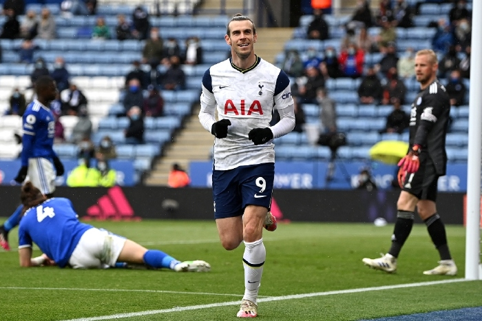 Gareth Bale found the net twice for Tottenham