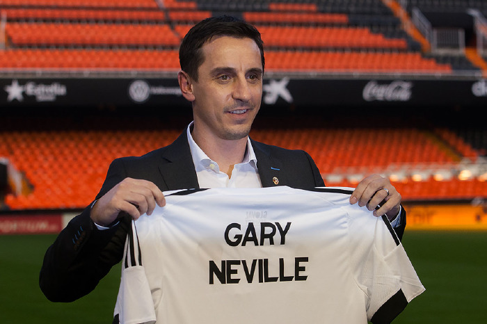 Gary Neville did not enjoy his time in Spain