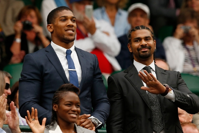 David Haye names the date he expects for Anthony Joshua vs Tyson Fury