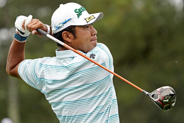 Matsuyama closing in on a first Green Jacket.