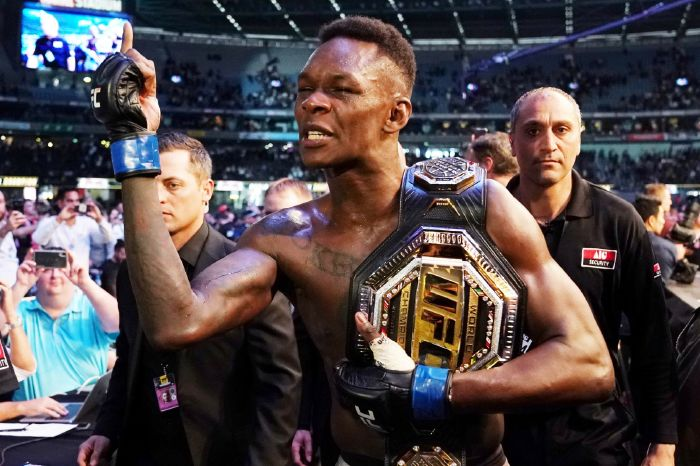 Israel Adesanya interview resurfaces about crossover fight with Canelo Alvarez