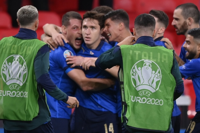 Italy and Austria fought out a fearless tie in London