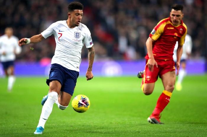 Jadon Sancho for England