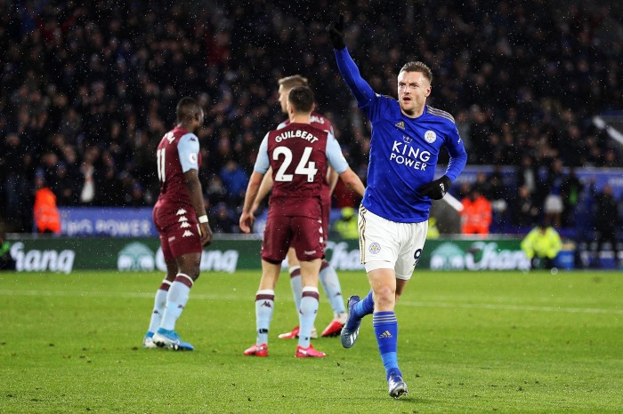 A look at Jamie Vardy's great record against Aston Villa