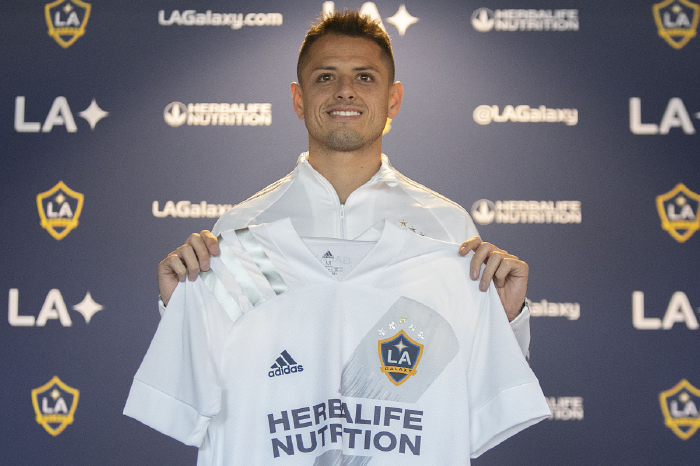 Chicharito got off to a disappointing start with LA Galaxy last season