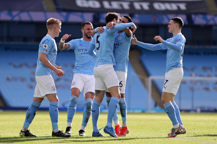 City notched their 20th win in a row, but they didn't have things all their own way