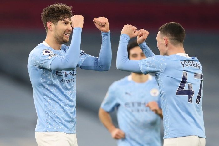 Man City have become used to celebrating this season