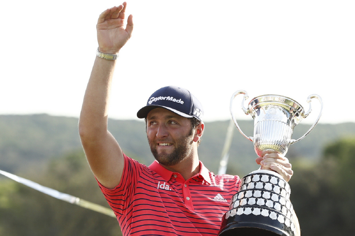 Jon Rahm is hoping to emulate the great Severiano Ballesteros with a third win in his national championship.