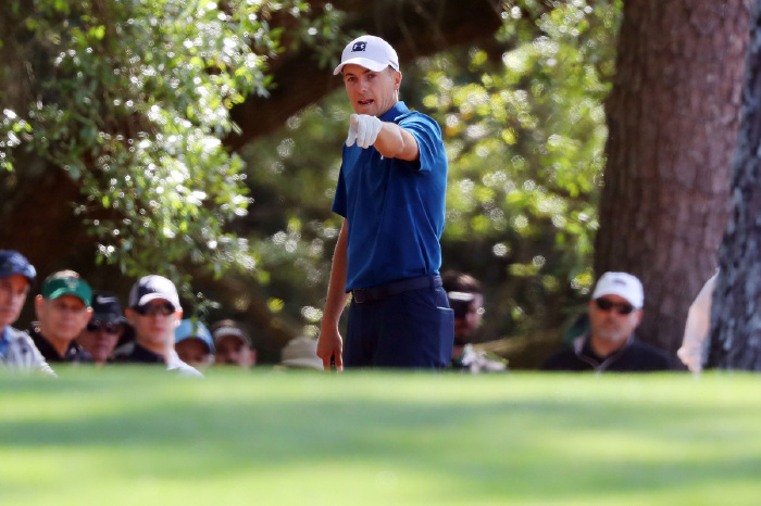 Spieth is now heading in the right direction