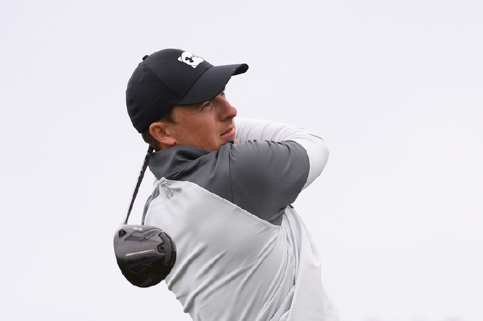 Spieth is chasing a second victory at the iconic Pebble Beach.