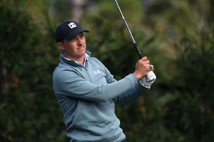 Jordan Spieth at the AT&T Pebble Beach Pro-Am