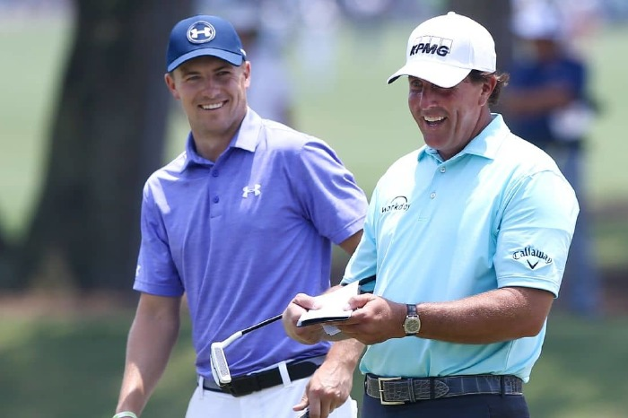 Spieth and Mickelson