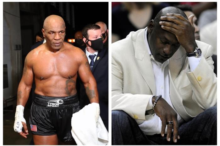 Mike Tyson nearly had a brawl with NBA icon Michael Jordan