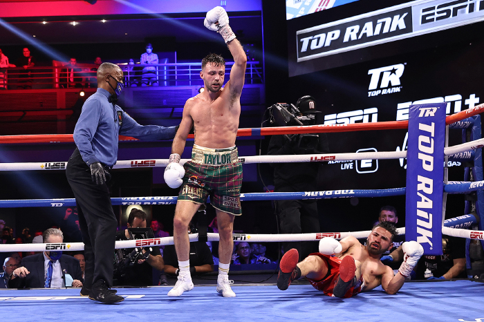 Josh Taylor: A fight with Terence Crawford at welterweight would be 'awesome'