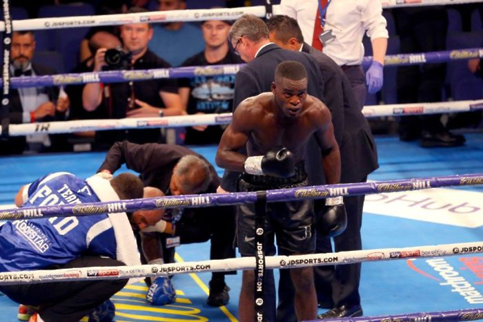 Joshua Buatsi extends his record to 13-0 after his latest knockout victory in Milton Keynes