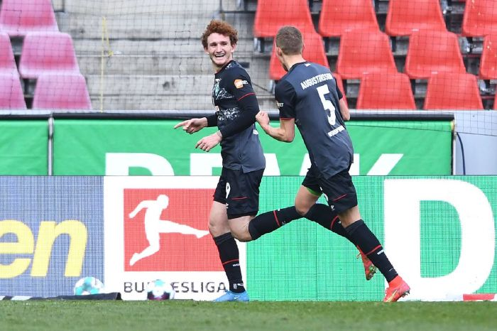 Josh Sargent carried on his good run of form as he scored past FC Koln to make it two goals in two games
