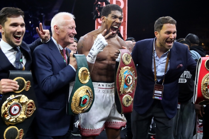 Eddie Hearn believes Anthony Joshua vs Tyson Fury is bigger than any world title possible