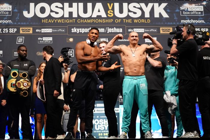 Johnny Nelson and Spencer Oliver analyse Oleksandr Usyk's chances