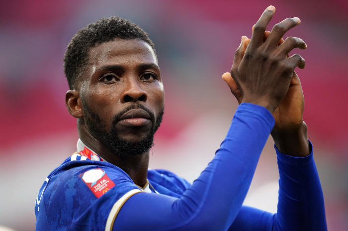 Leicester's in-form striker Kelechi Iheanacho
