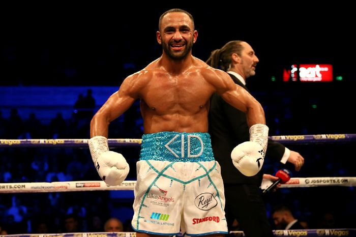 Kid Galahad promises to clean up after becoming IBF featherweight world champion