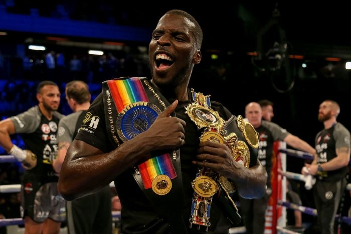 Lawrence Okolie looks to win his first world title against Poland's Krzysztof Głowacki