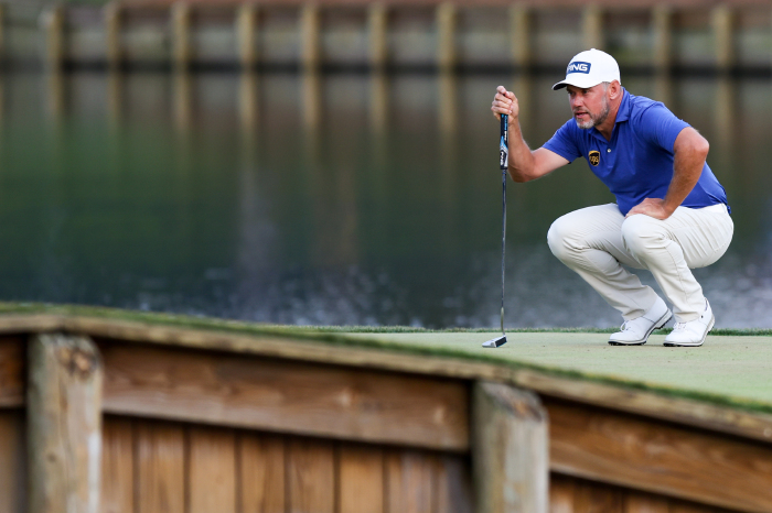 Lee Westwood is on the verge of his biggest win.