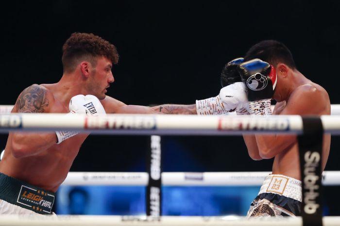 Leigh Wood stuns Xu Can to become WBA featherweight world champion