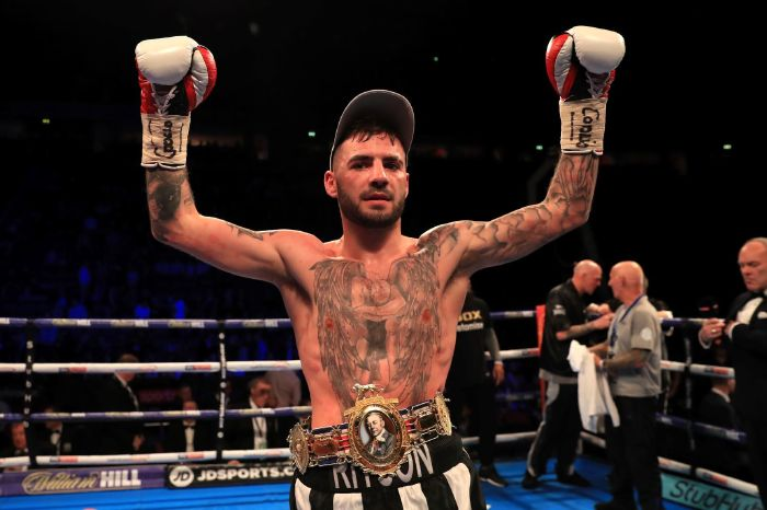 Lewis Ritson returns this weekend