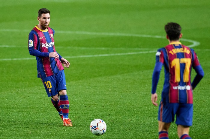 Lionel Messi added another record to his long list