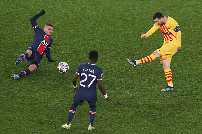 A big Barcelona comeback didn't materialise against PSG on Wednesday night