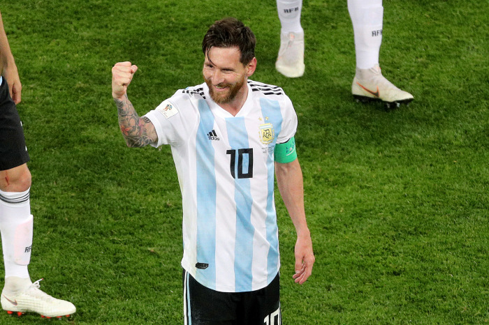 Lionel Messi has provided plenty of iconic moments for Argentina