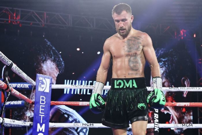 Vasyl Lomachenko is hoping to secure a rematch with lightweight's unified champion Teofimo Lopez