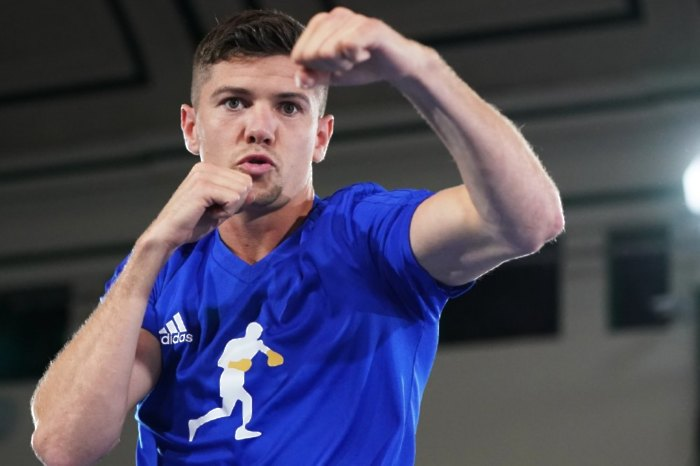 Luke Campbell has tested positive for Covid-19