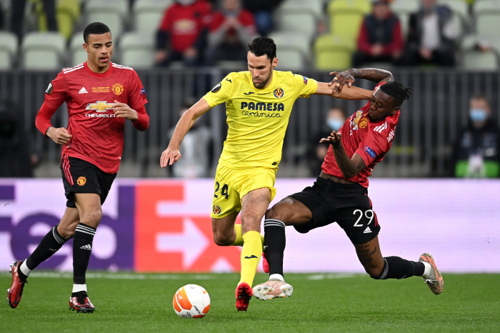 Man Utd pic from clash with Villarreal