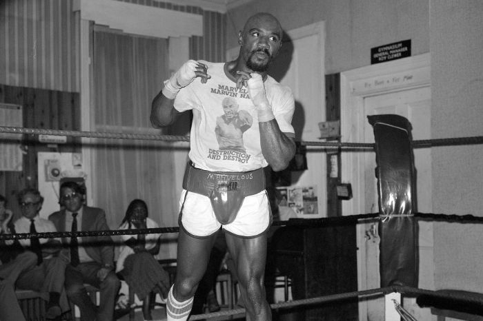 Marvelous Marvin Hagler is regarded as the greatest middleweight of all-time