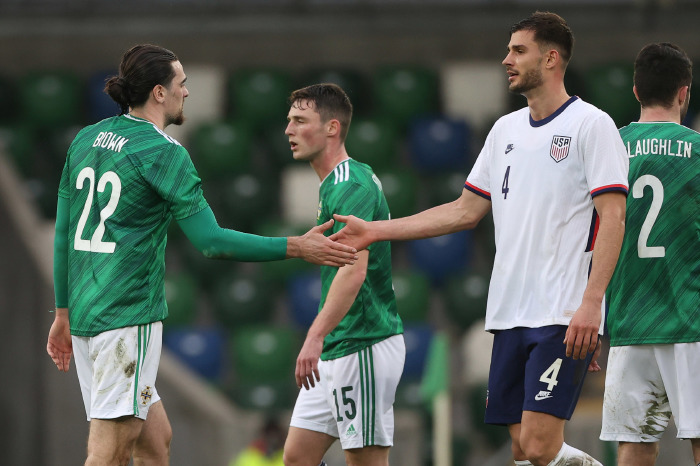 The USA earned a solid win on Sunday against Northern Ireland