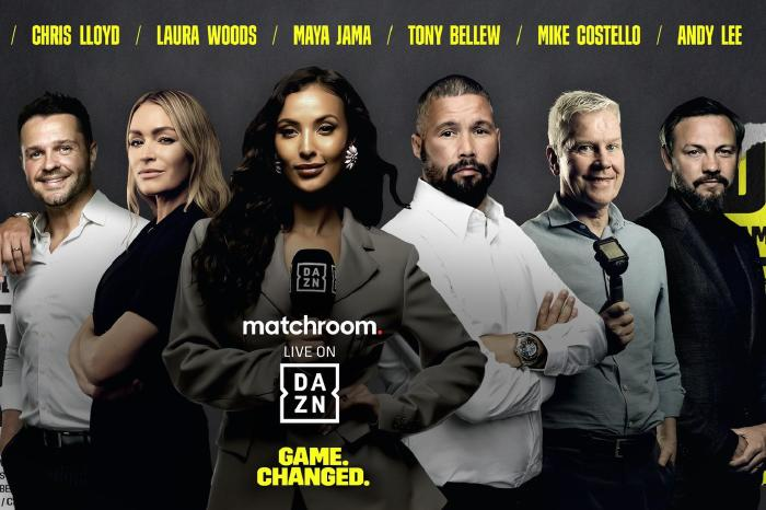 Mike Costello, Laura Woods and Maya Jama join DAZN ahead of Fight Camp