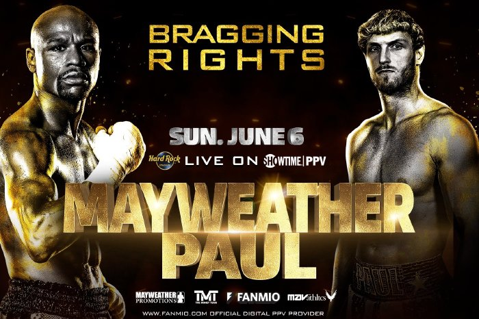 Mayweather is set to pocket an estimated $75million against Paul