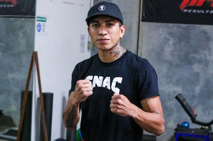 Mario Barrios defends his WBA world championship this weekend [Brett Ostrowski/ MJS Entertainment]