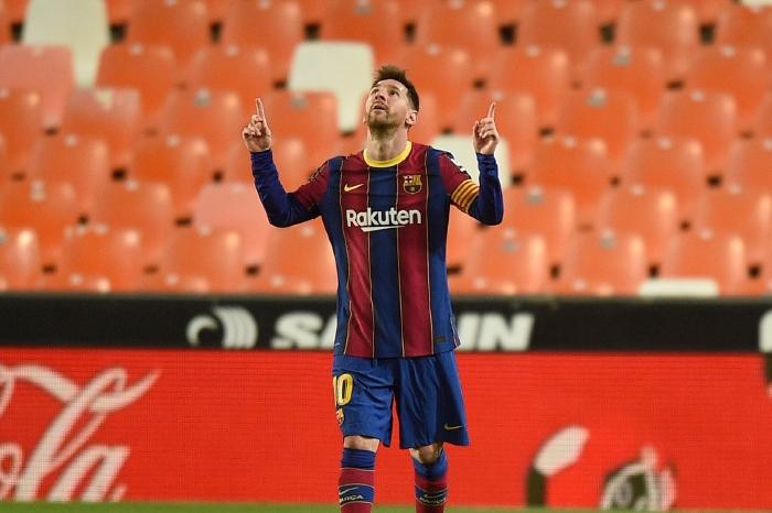 Lionel Messi vs Valencia, 2021